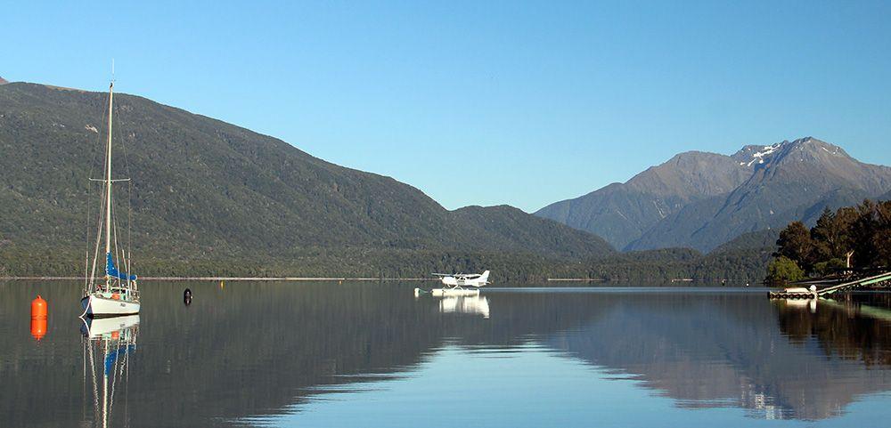Sea plane, New Zealand