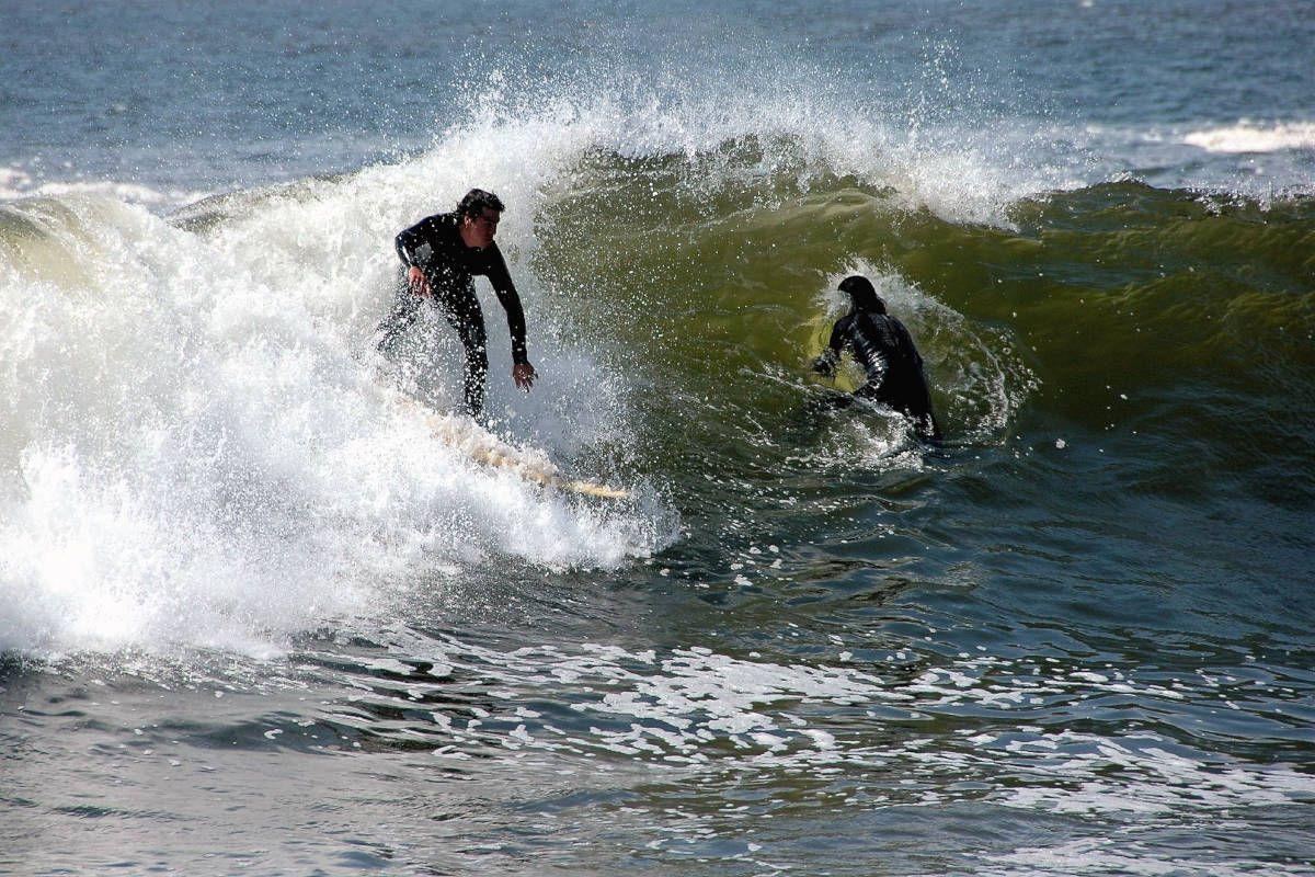 Surfing at Arica