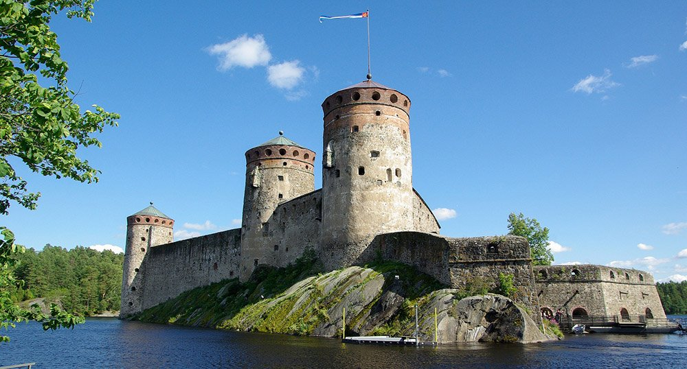 Old fortress in Finland
