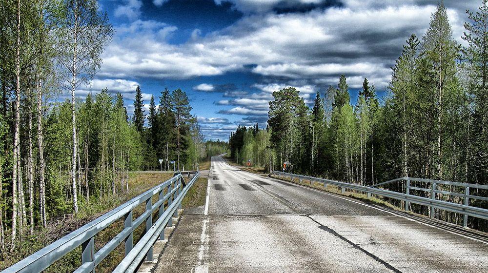 Motorway in Finland