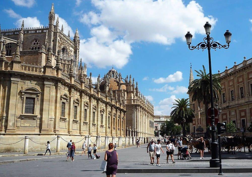 Streetview in Sevilla, Spain