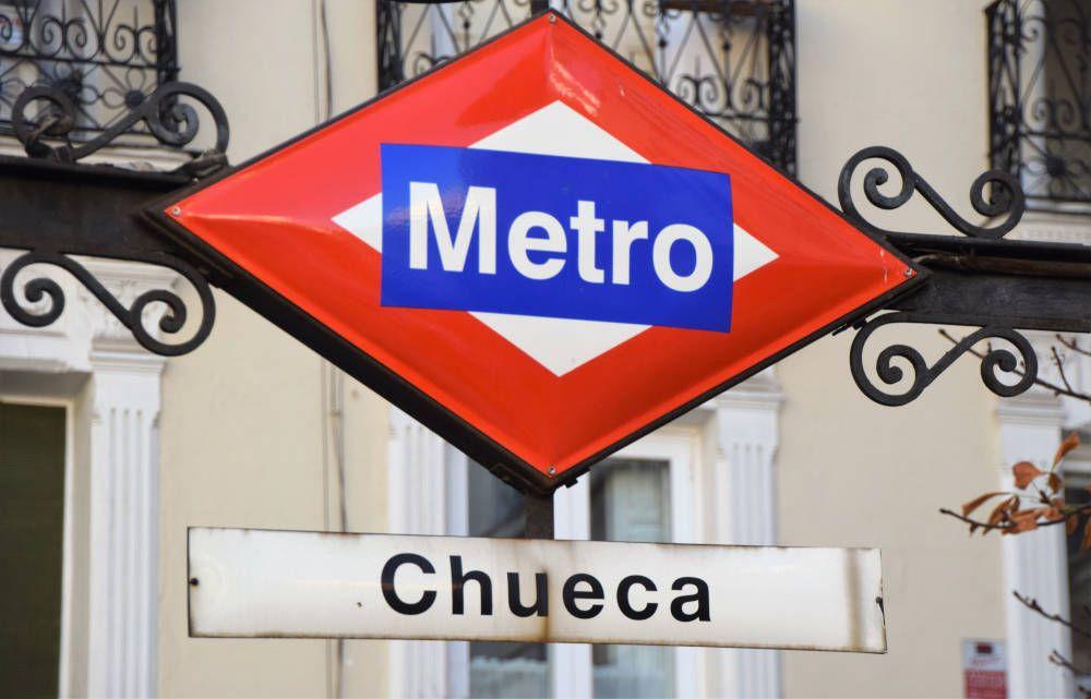 The tube in Spain