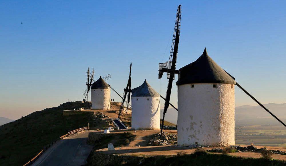 Wind mills in Spain