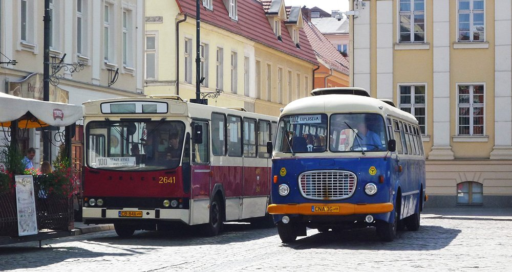 Busses in Poland