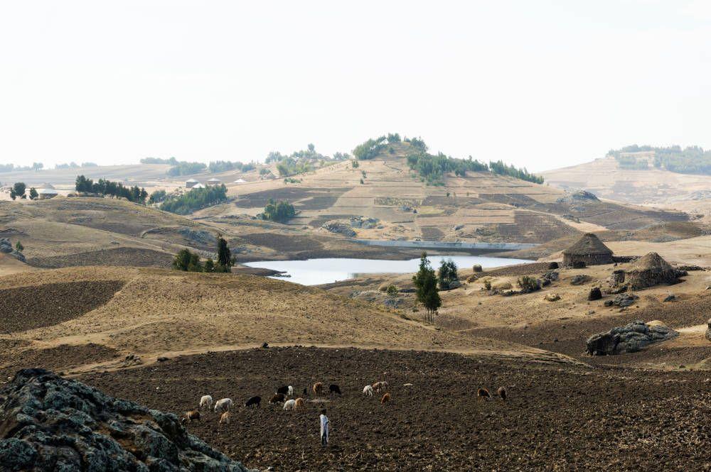 Trekking at Lalibela, Ethiopia