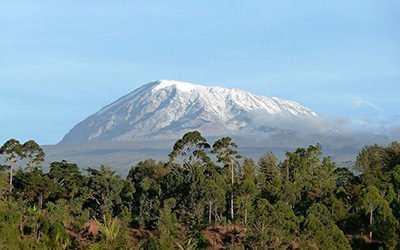 The impressive Kilimanjaro National Park