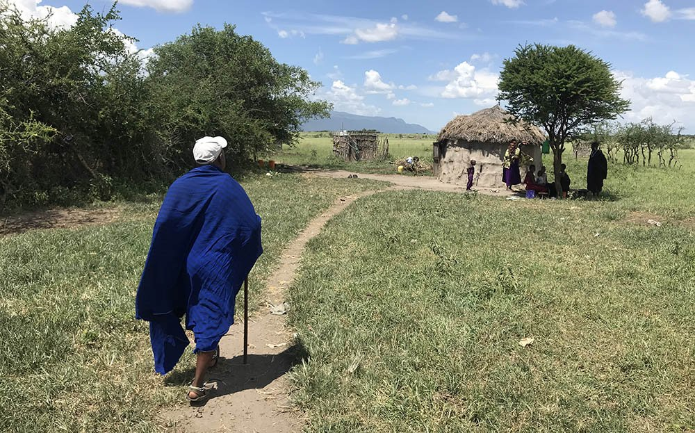 visit to a Maasai village