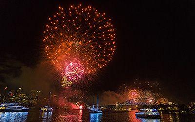 Celebrating New Years Eve in Sydney