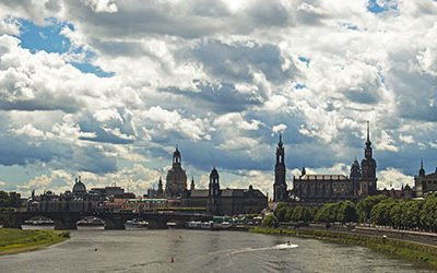 City trip to the baroque city of Dresden