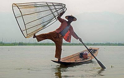 The villages and markets around Inle Lake