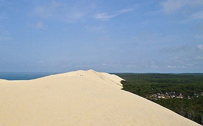 Dune du Pyla at the Bassin d'Arcasson