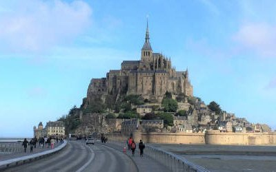 Mont Saint-Michel, iconic island near Normandy