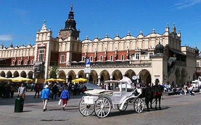 The fascinating and charming city of Kraków