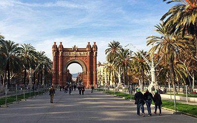 City trip to Barcelona, capital of Catalonia