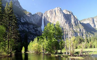 Cycling and hiking in Yosemite National Park