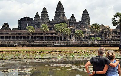 Angkor Wat and the other temples at Siem Reap