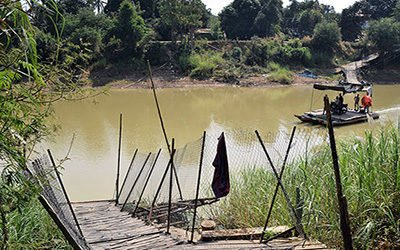 Cycling through the Battambang hinterland
