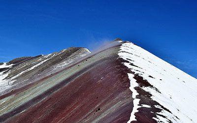 Climbing to the Rainbow Mountain