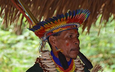 A visit to the Shaman in Cuyabeno Reserve
