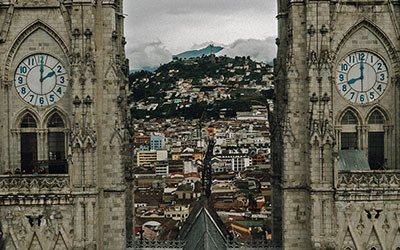 Discover the old town of Quito