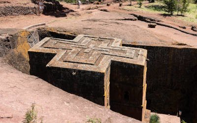 The rock churches of Lalibela in northern Ethiopia