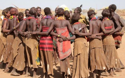 The tribes in southern Ethiopia
