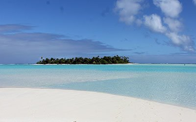 The enchanting lagoon of Aitutaki