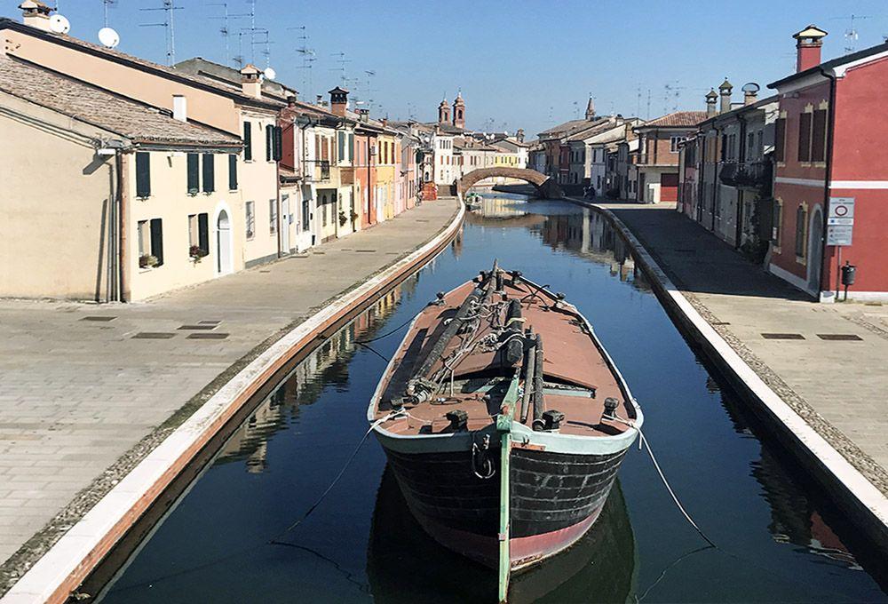 Comacchio, northeast Italy