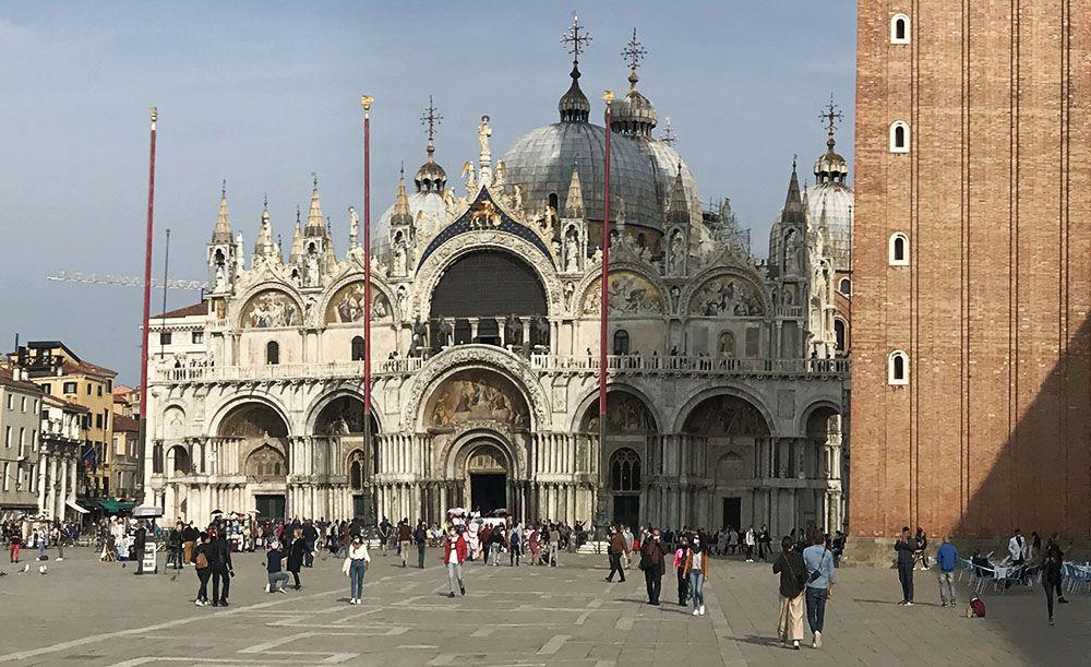 Campanile and basilica