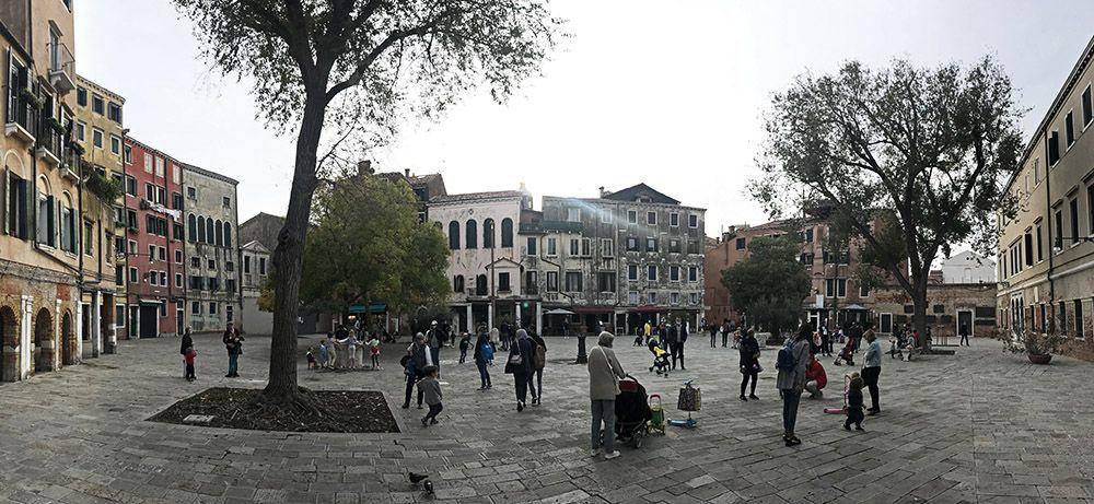 Ghetto of Venice, Italy
