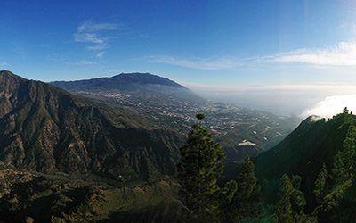 Hiking in the green, Spanish hiking paradise of La Palma